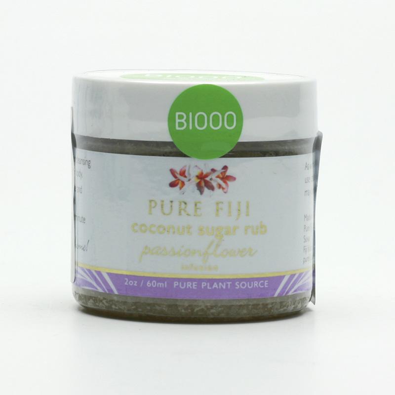 Pure Fiji Kokosový peeling s třtinovým cukrem, mučenka 59 ml
