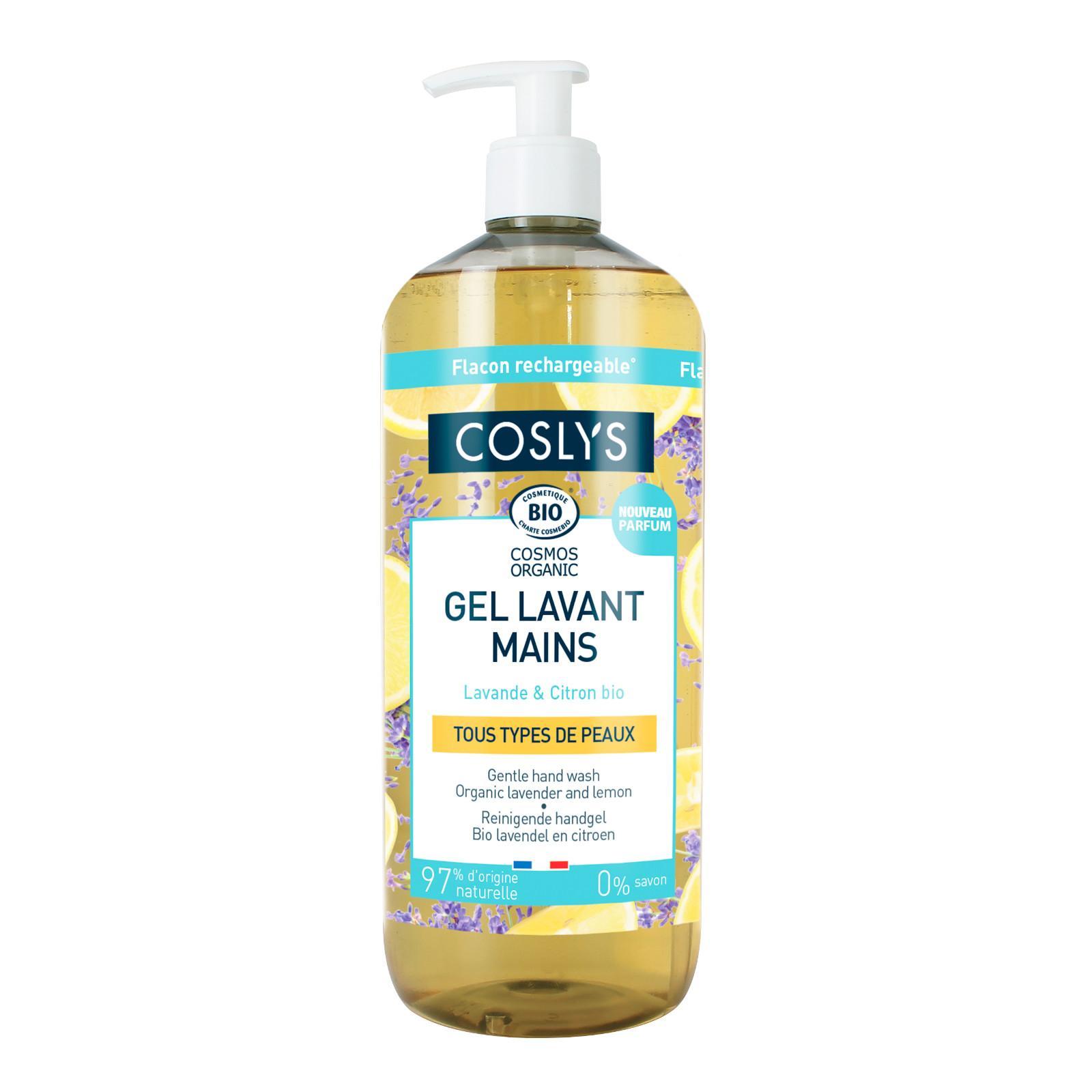 Coslys Jemný mycí krém na ruce citron a levandule 1 l