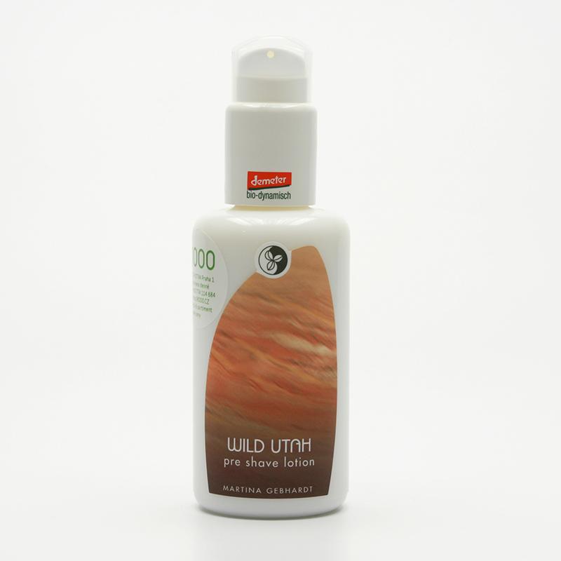 Martina Gebhardt vzor Mléko před holením, Wild Utah Pre-Shave Lotion 100 ml