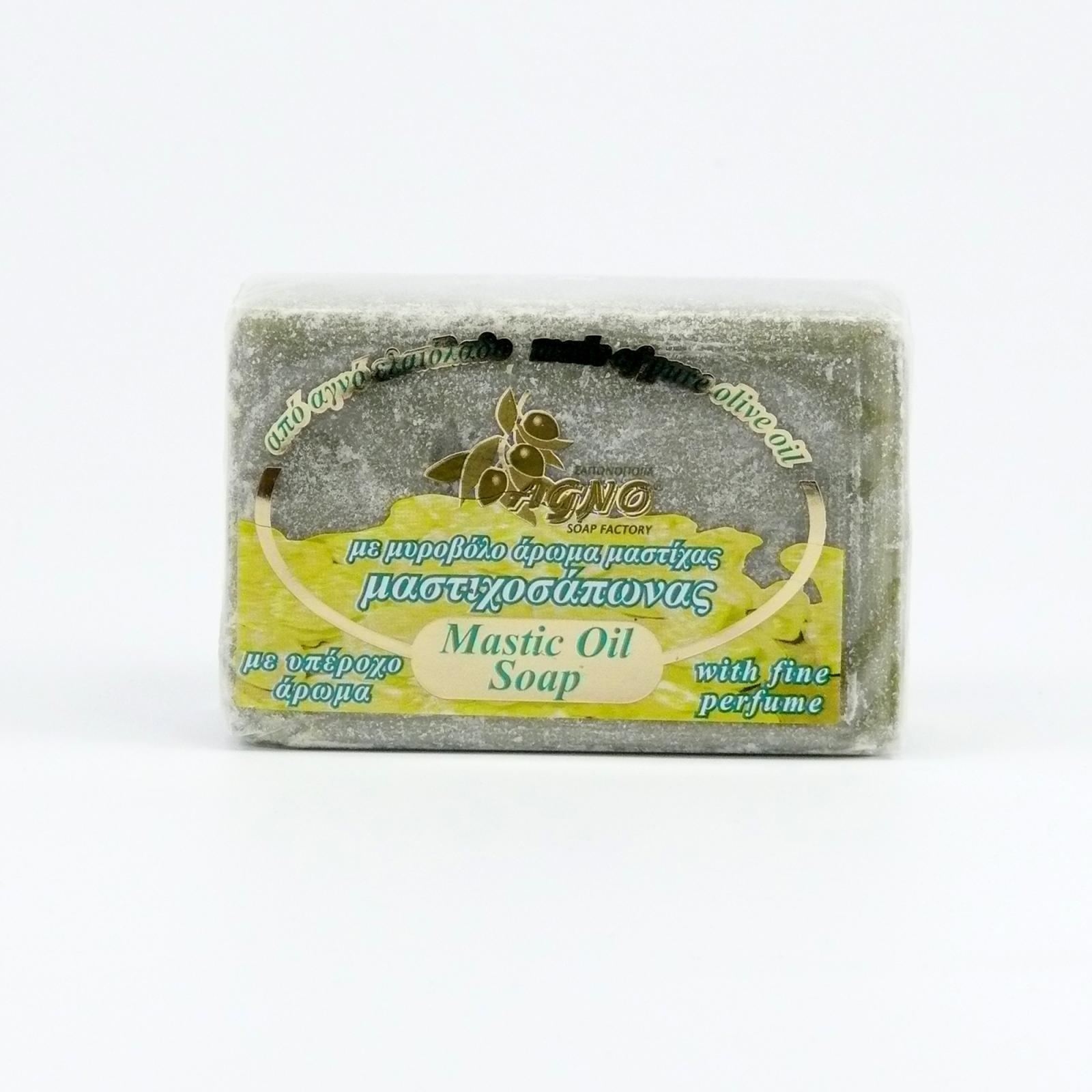 Agno Mýdlo olivové Mastic s mastichou 125 g