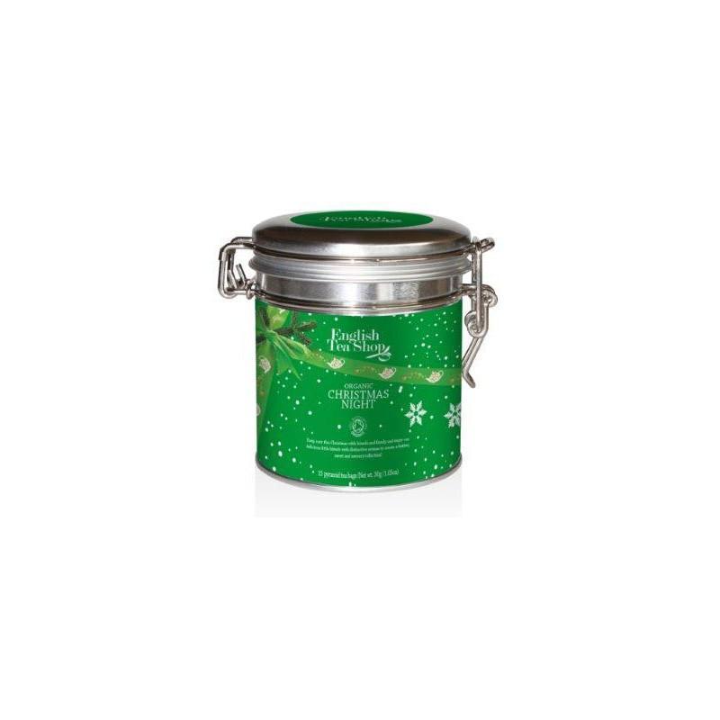 English Tea Shop Vánoční noc, plechová kazeta 15 ks, 30 g