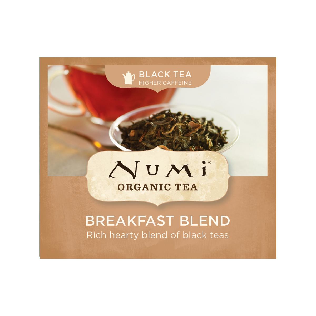 Numi Černý čaj Breakfast Blend 1 ks, 2,2 g