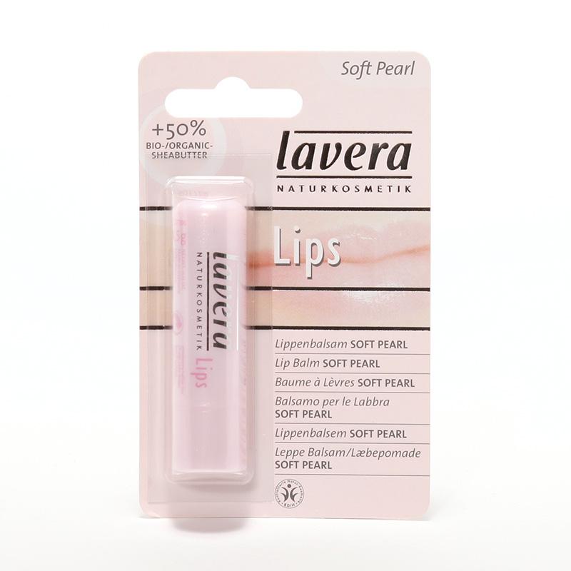 Lavera Balzám na rty soft pearl, Lips 4,5 g