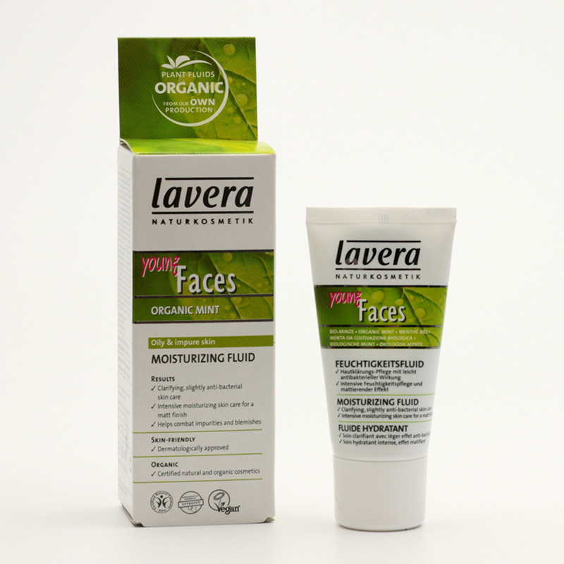 Lavera xxHydratační fluid máta, Faces 30 ml