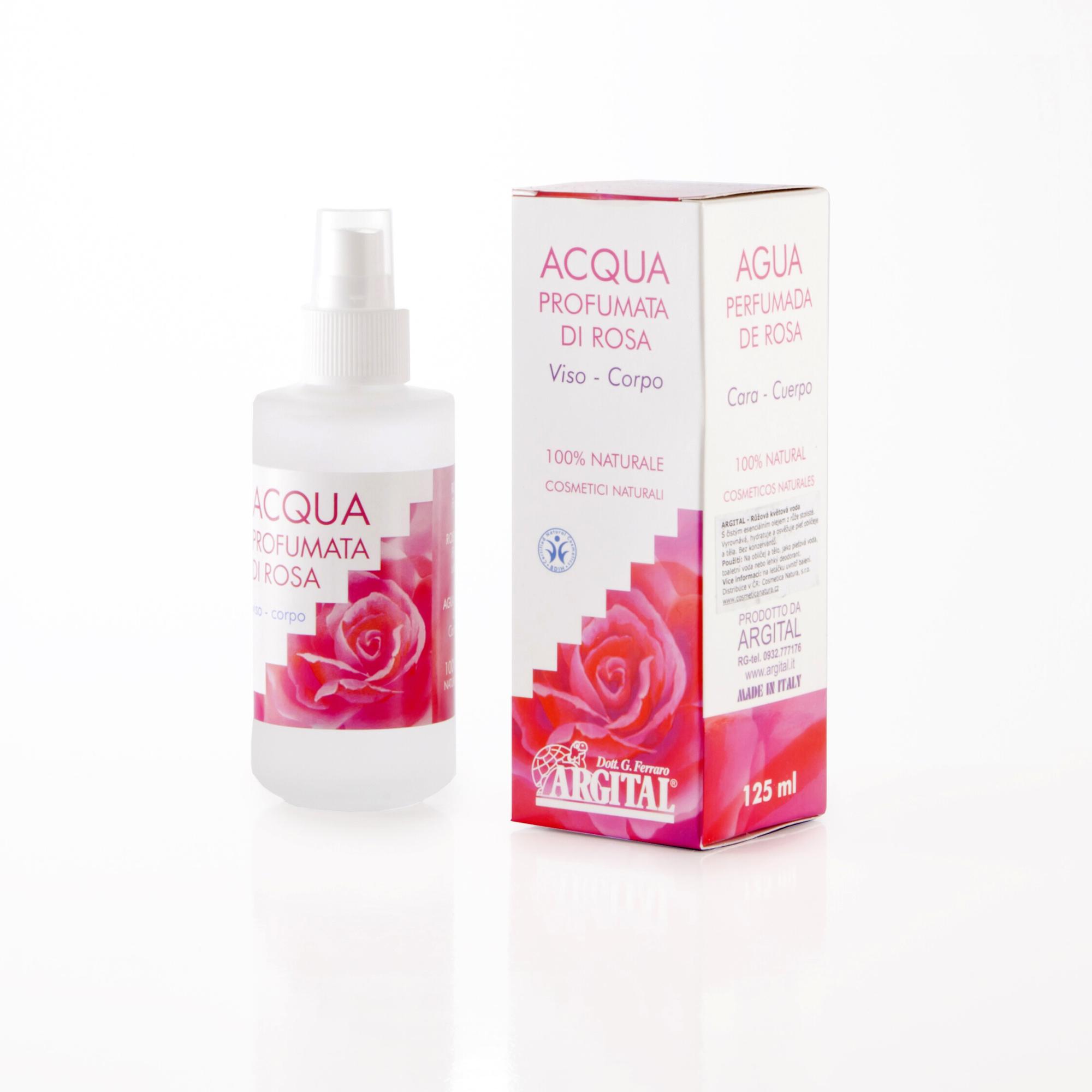 Argital Růžová květinová voda 125 ml