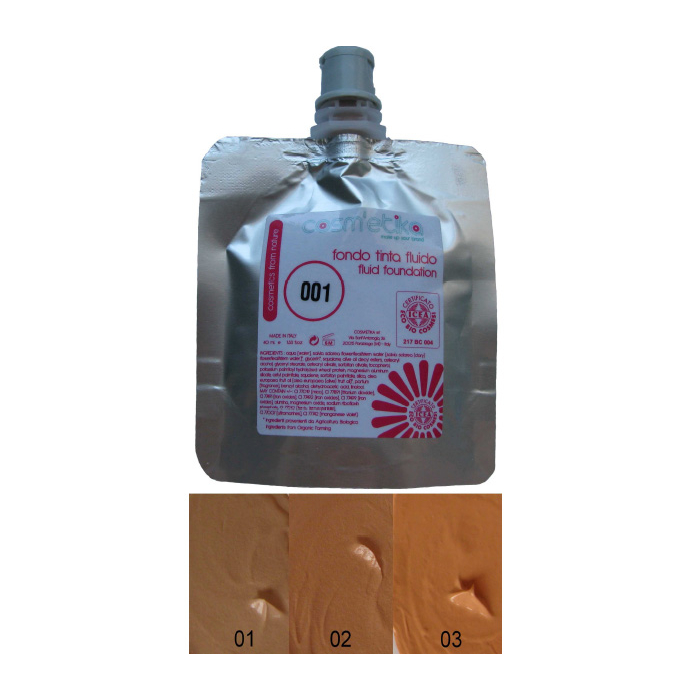 Cosm´etika Krémový make-up 02 tmavě béžová 40 ml