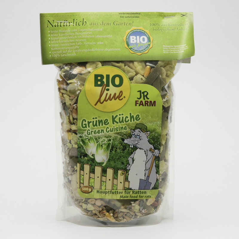 JR Farm Biokrmivo pro potkany, Green Cuisine 500 g