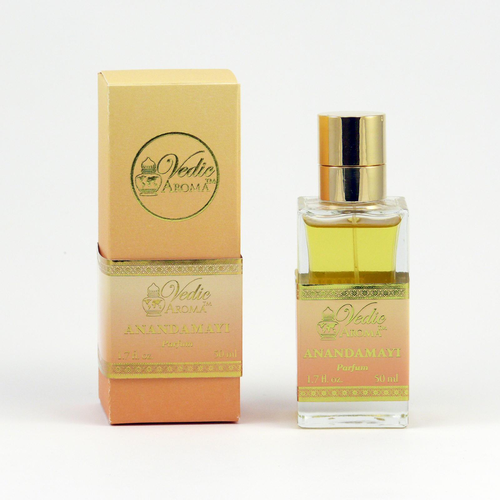 Vedic Aroma Ayurvédský parfém Parfum Anandamayi 50 ml, sprej