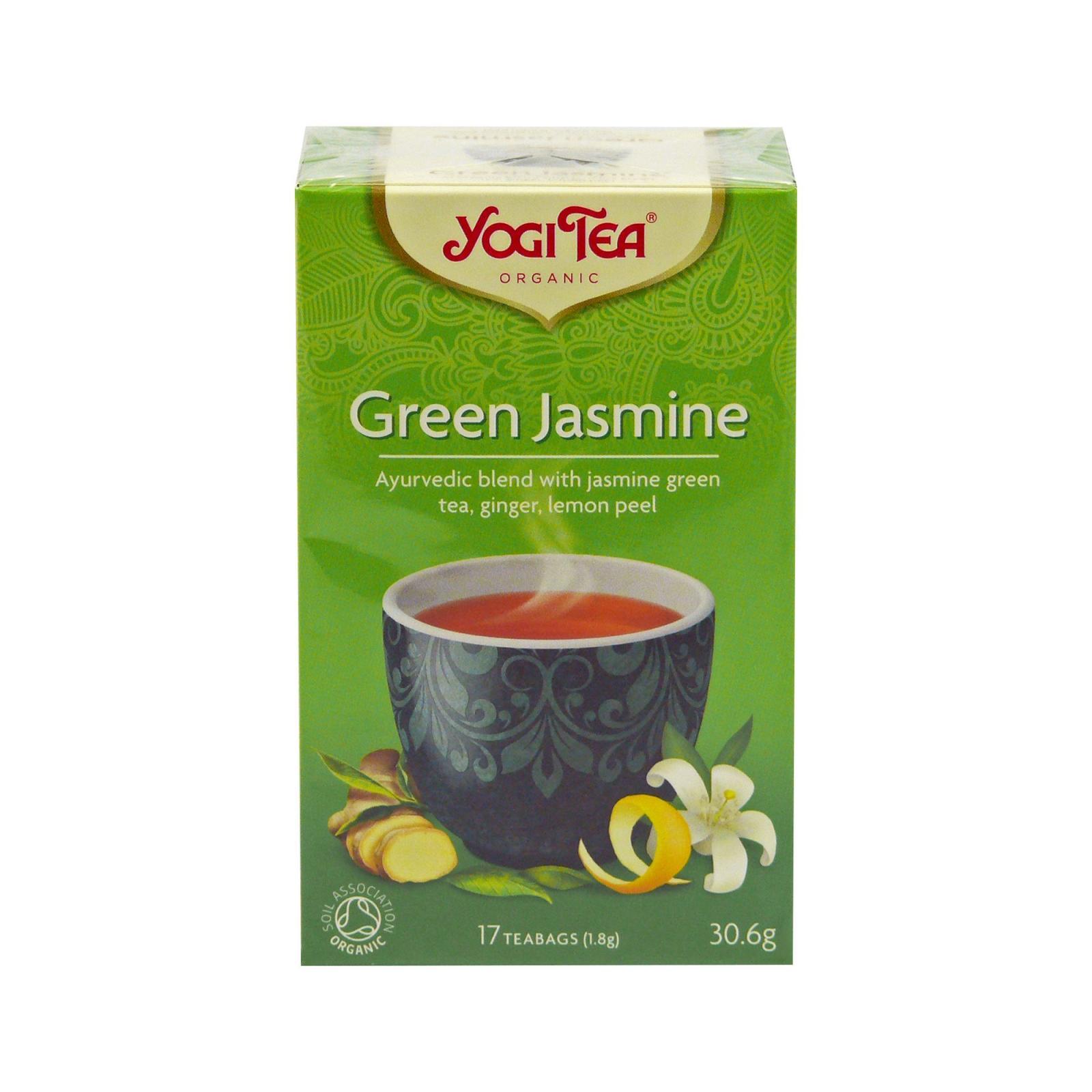 Golden Temple Čaj Yogitea Green Jasmine 17 ks, 30,6 g