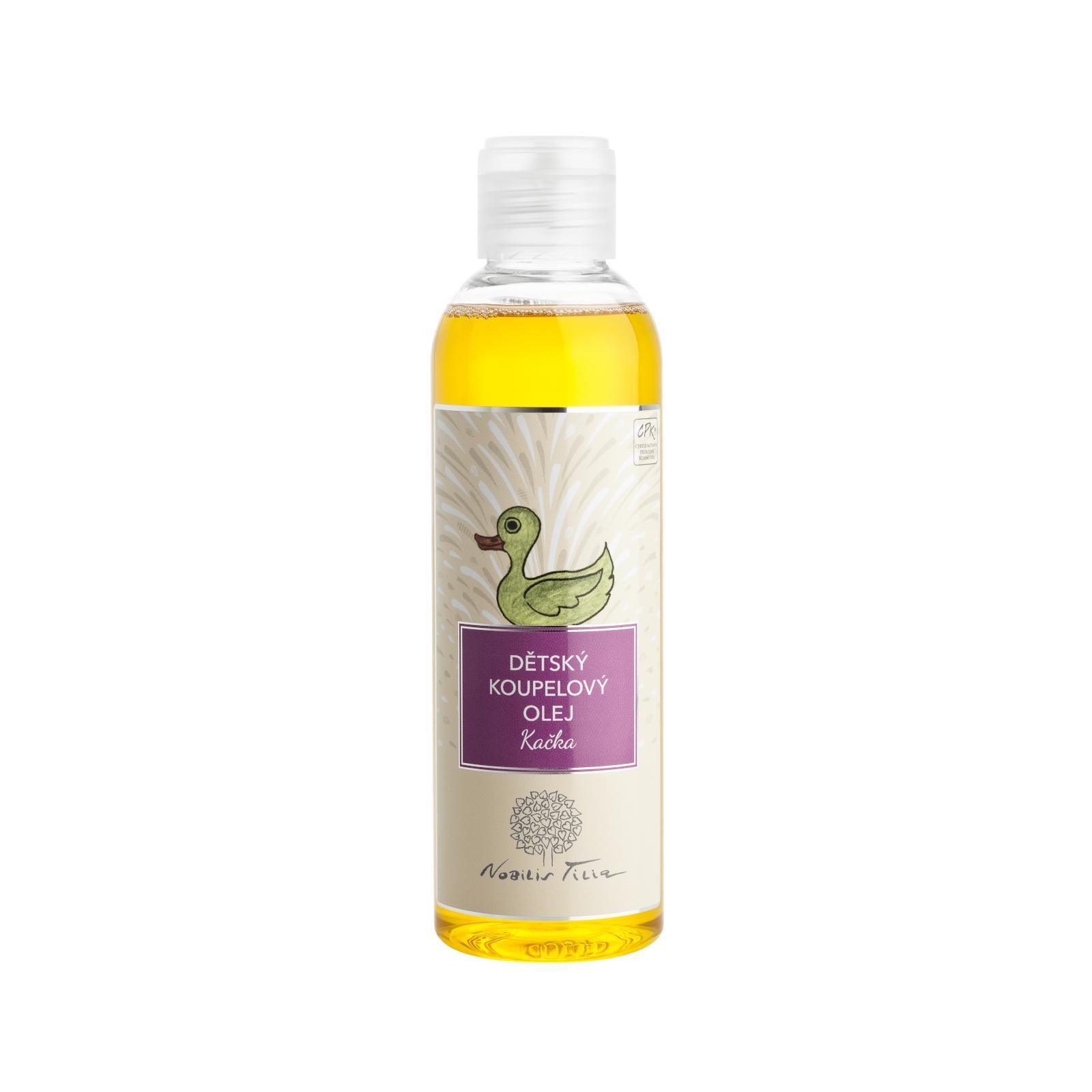 Nobilis Tilia Koupelový olej dětský s mandarinkou 200 ml