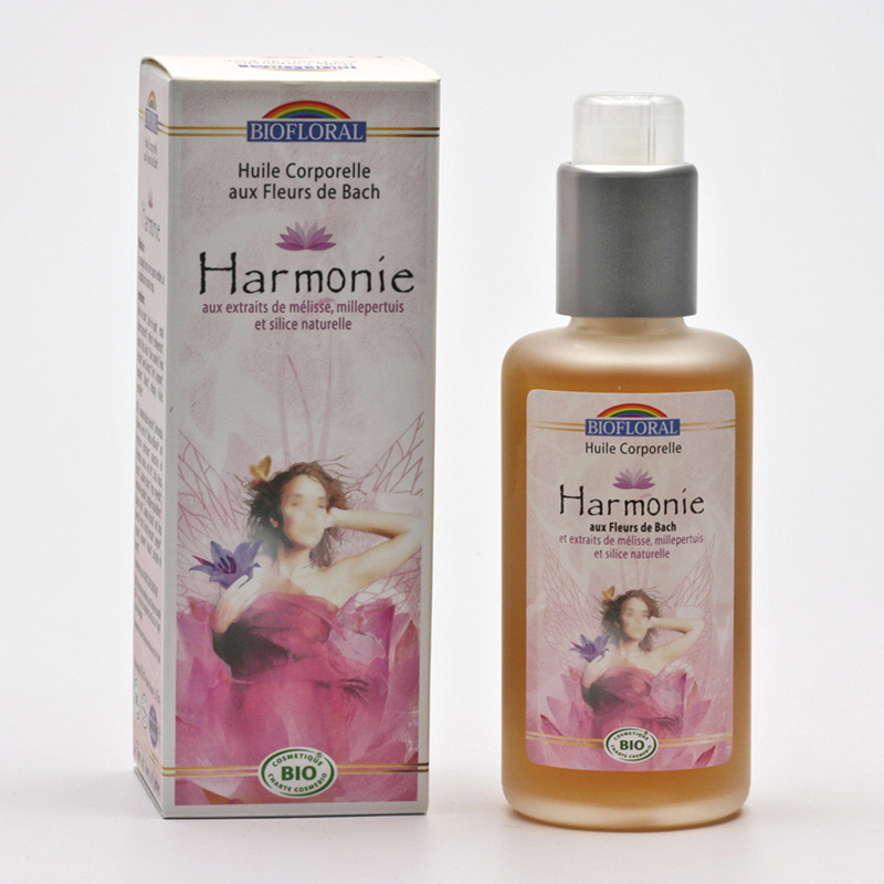 Biofloral x Tělový olej s květy Dr. Bacha harmonie 100 ml