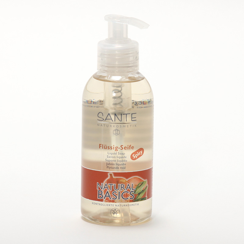 Santé Tekuté mýdlo spicy, Natural Basics 200 ml