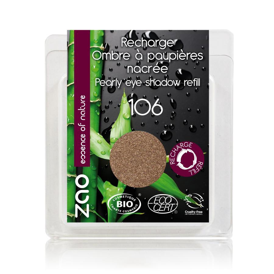 ZAO Třpytivé oční stíny 106 Bronze 3 g náplň