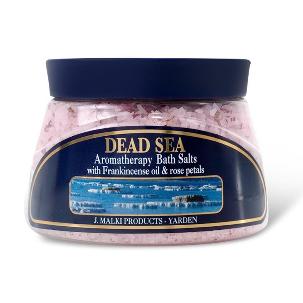 Malki Koupelová sůl z Mrtvého moře s kadidlovníkem 500 ml