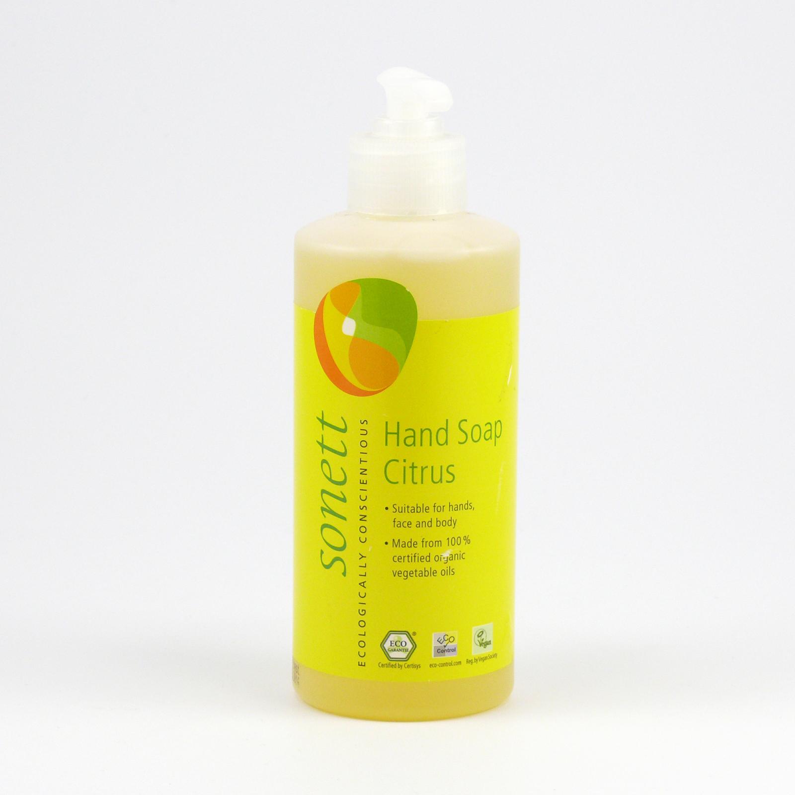Sonett Tekuté mýdlo na ruce citrus 300 ml