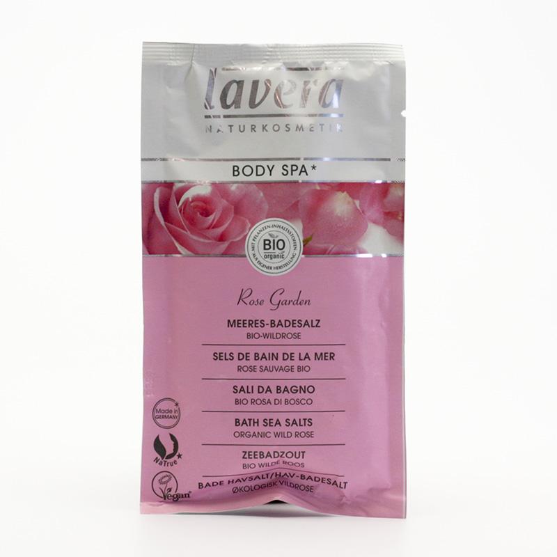 Lavera Koupelová sůl divoká růže, Body Spa 80 g