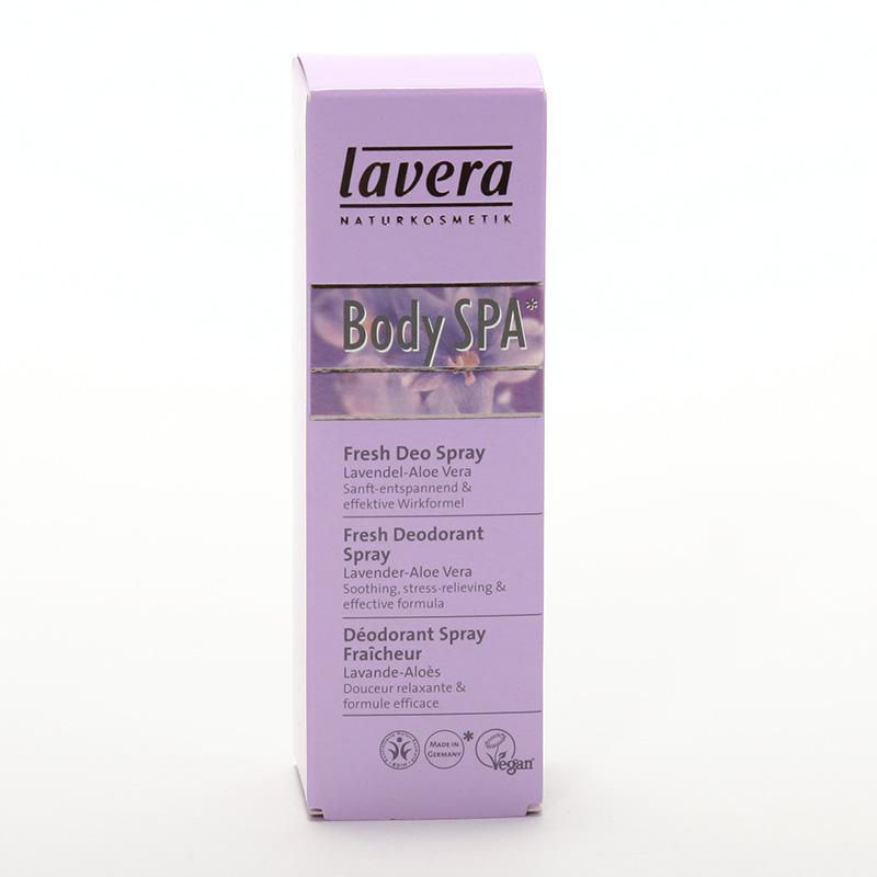 Lavera Deodorant sprej levandule a aloe vera, Body Spa 50 ml