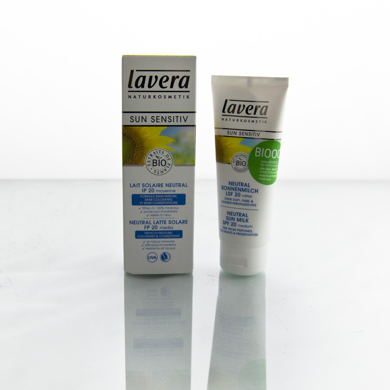 Lavera Mléko opalovací SPF 20 Neutral, Sun Sensitive 75 ml