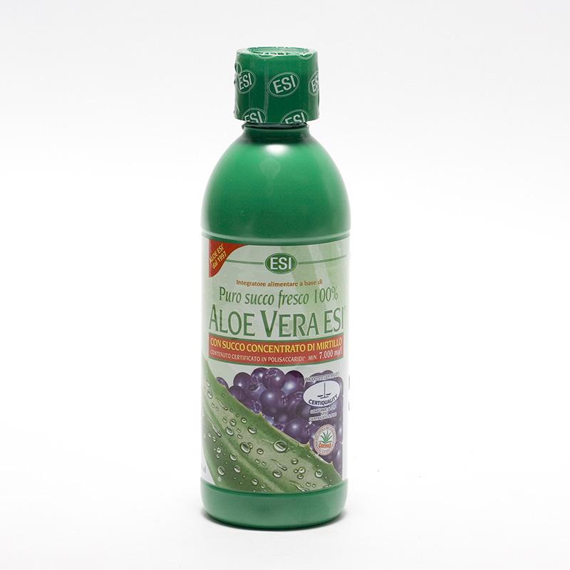 ESI Aloe vera šťáva, borůvka 500 ml