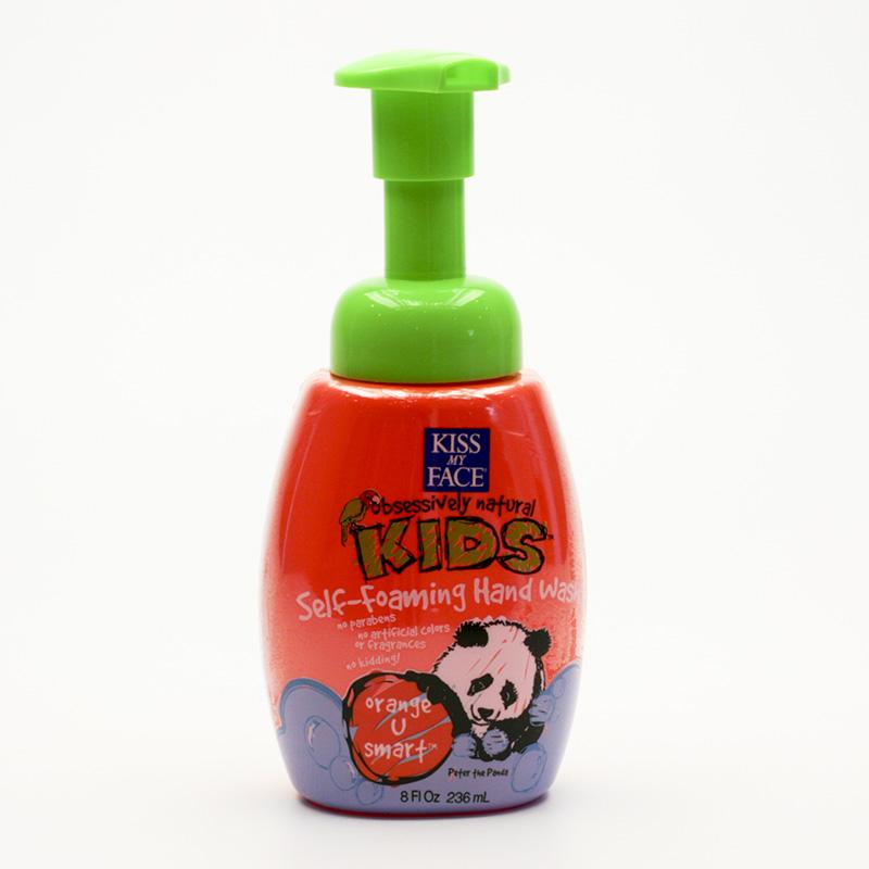 Kiss My Face Corp. Mýdlo tekuté samopěnící dětské, pomeranč 236 ml