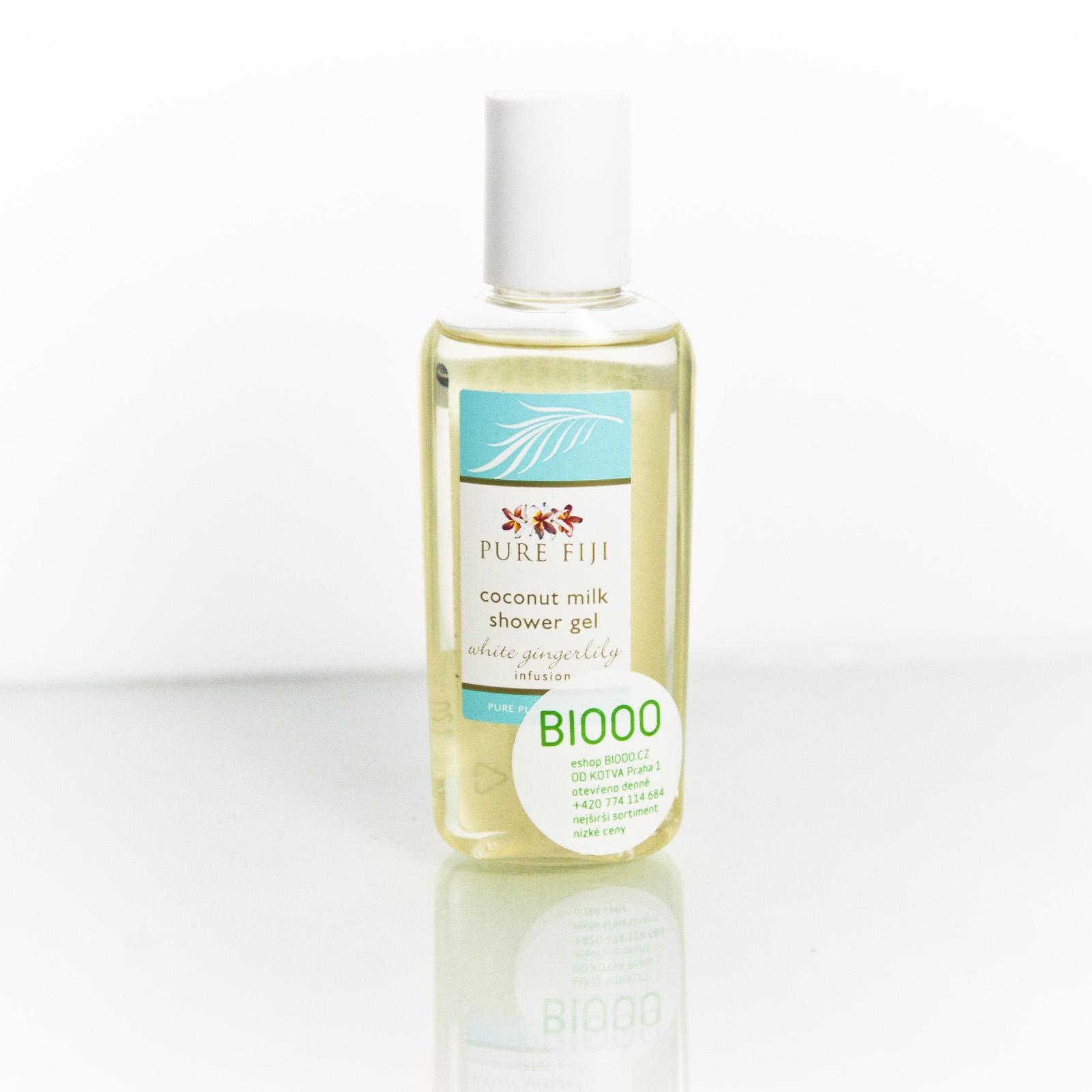 Pure Fiji Kokosový sprchový gel, zázvor 59 ml
