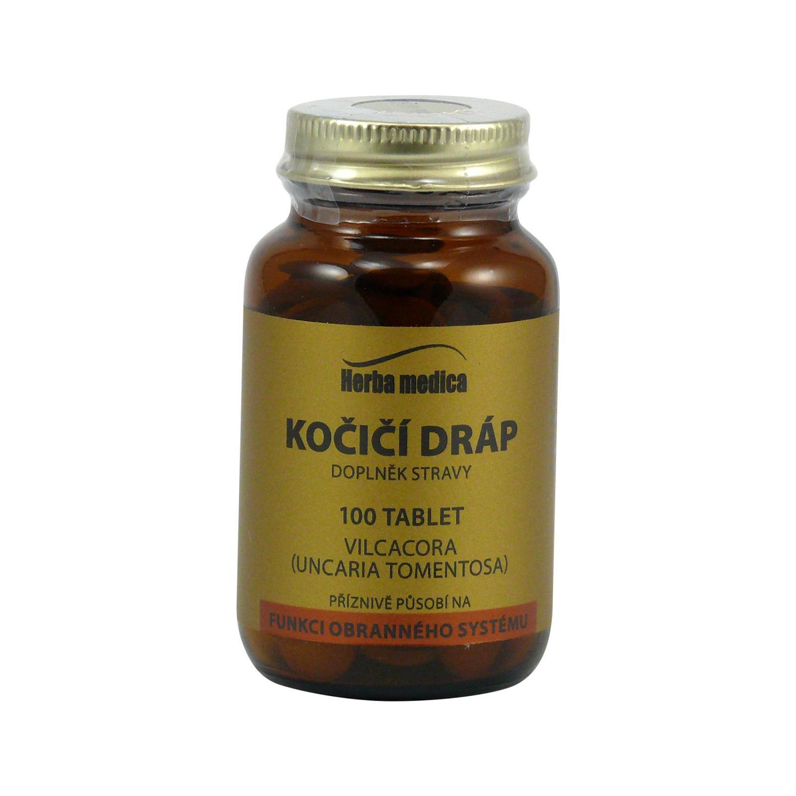 Herba Medica Kočičí dráp 50 g,100 ks (tablet)