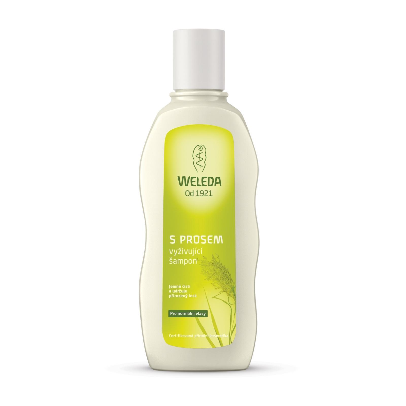 Weleda Vyživující šampon s prosem pro normální vlasy 190 ml