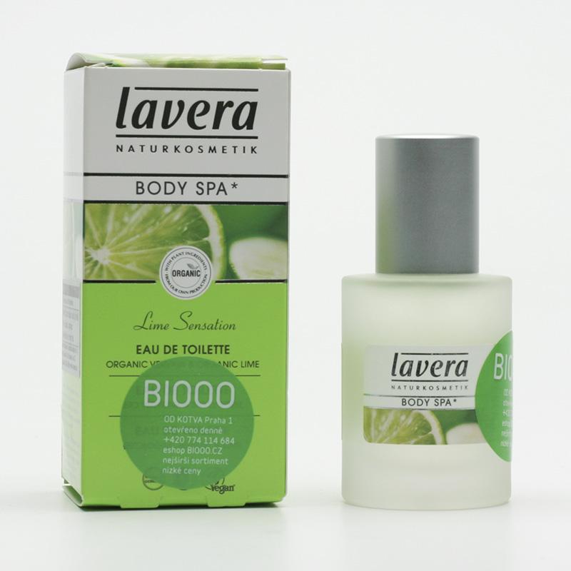 Lavera Toaletní voda verbena a limetka, Body Spa 30 ml