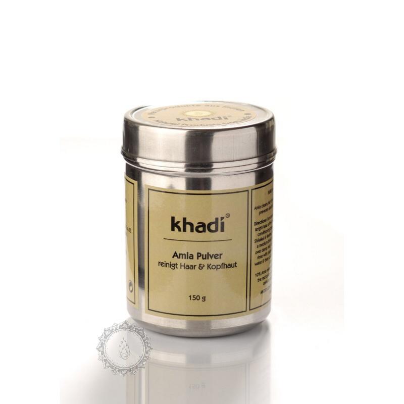 Khadí Prášek Amla bio - kondicioner & kúra 150 g