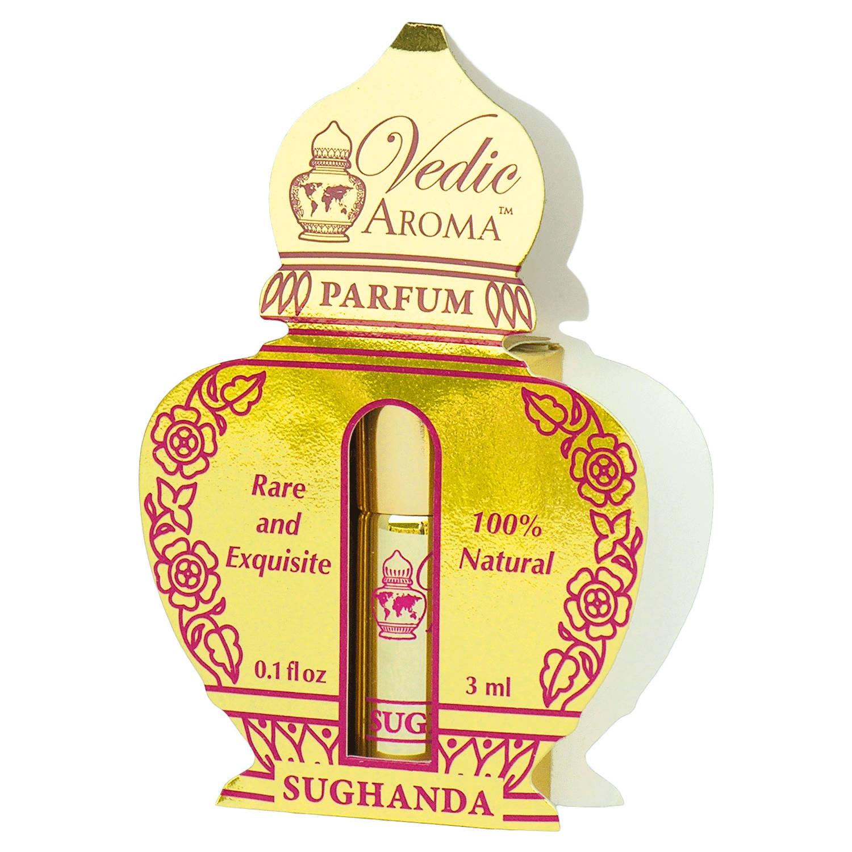 Vedic Aroma Ayurvédský parfém na bázi oleje Sughanda 3 ml, roll on