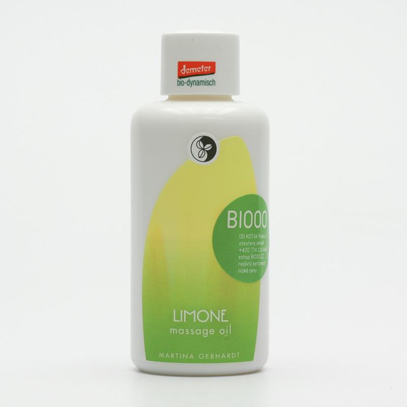 Martina Gebhardt vzor Masážní olej, Limonene Massage Oil 100 ml