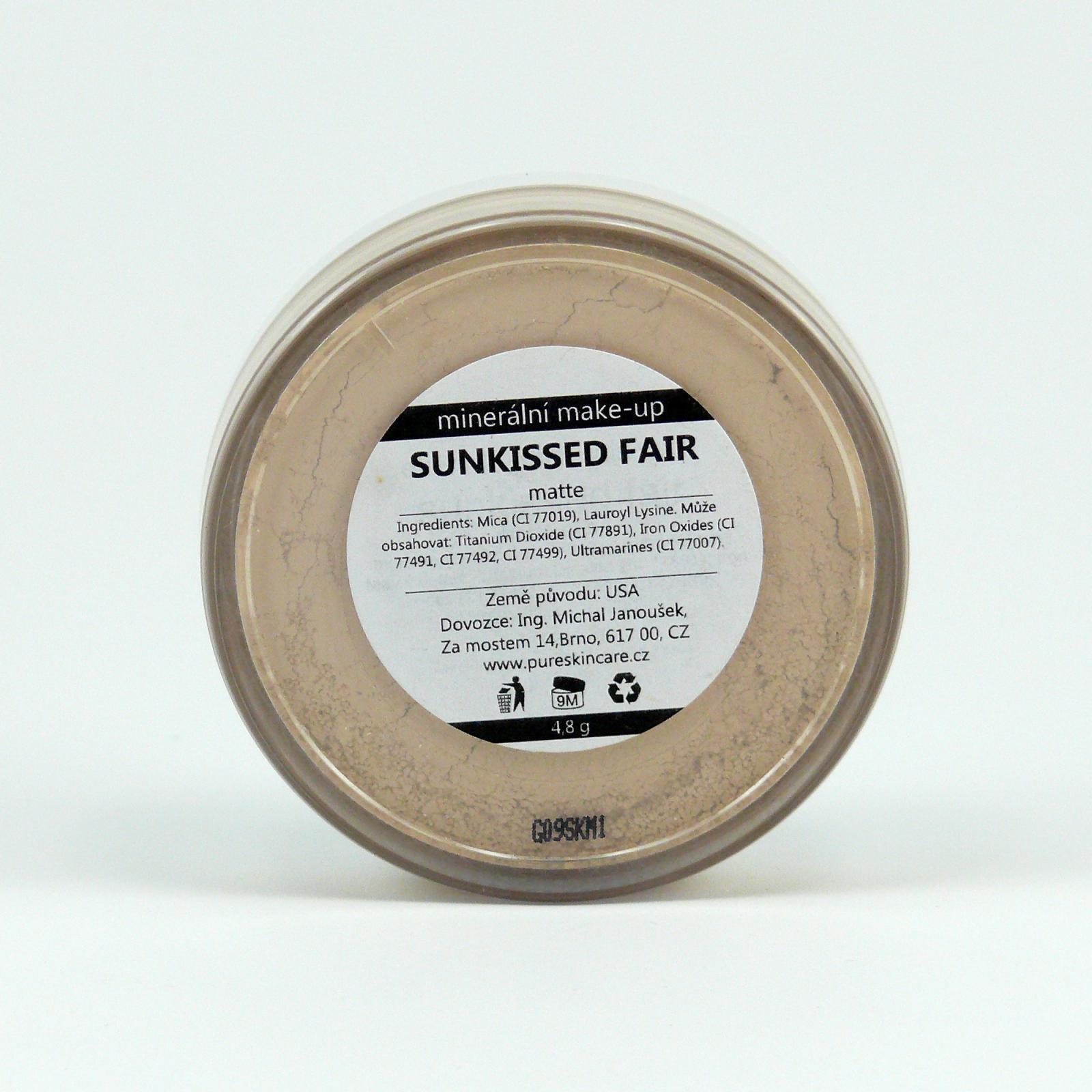 Everyday Minerals Minerální make-up Sunkissed Fair, Matte 4,8 g