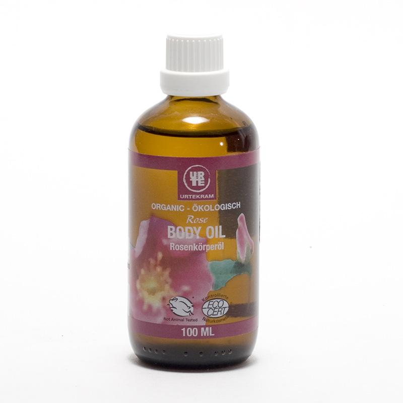 Urtekram Tělový olej z divoké růže 100 ml