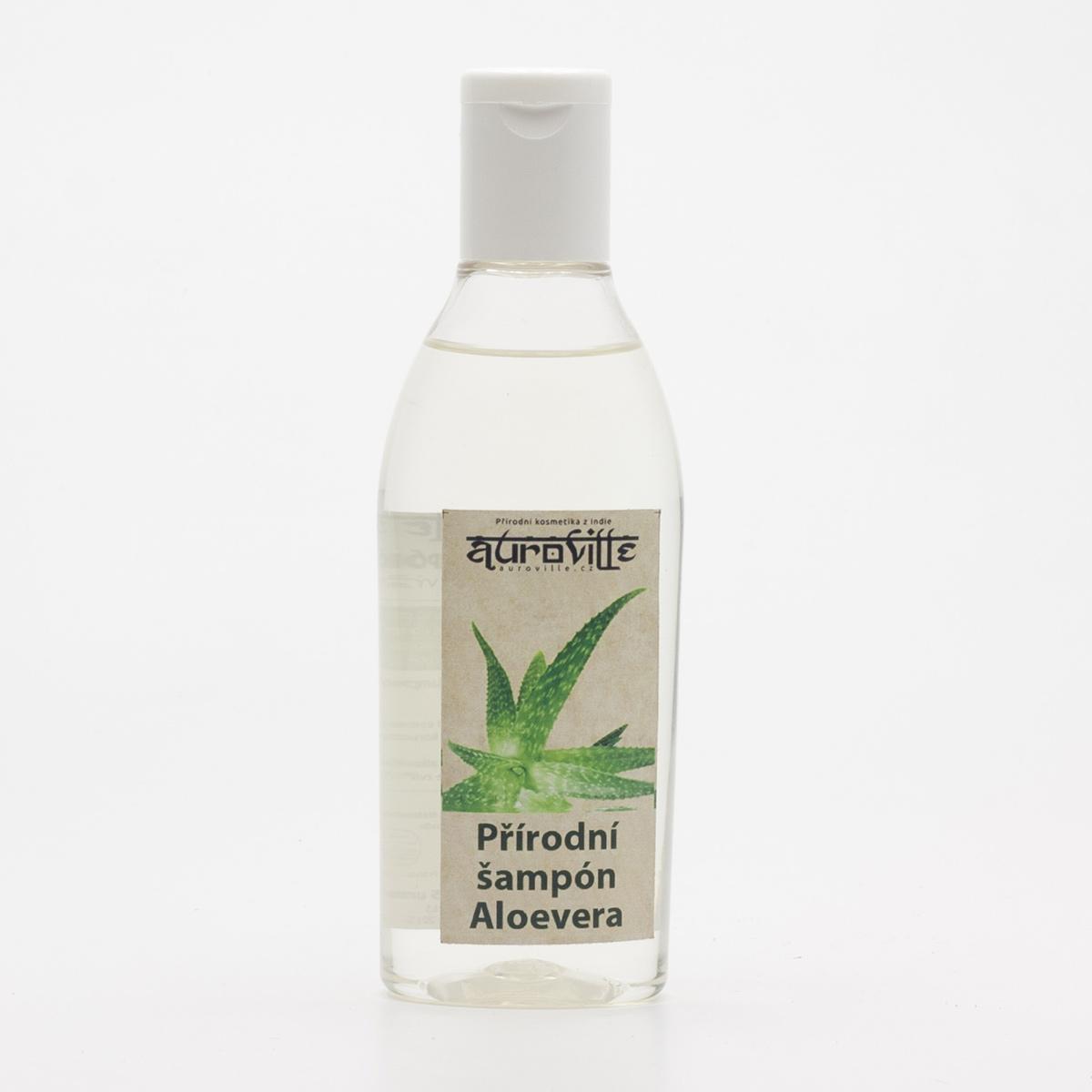 Auroville Vlasový šampon Aloe vera 100 ml