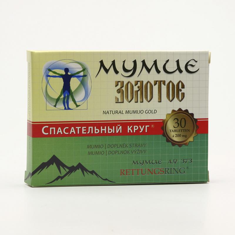 TML Zlaté mumio altajské čisté 30 ks, (tablet)