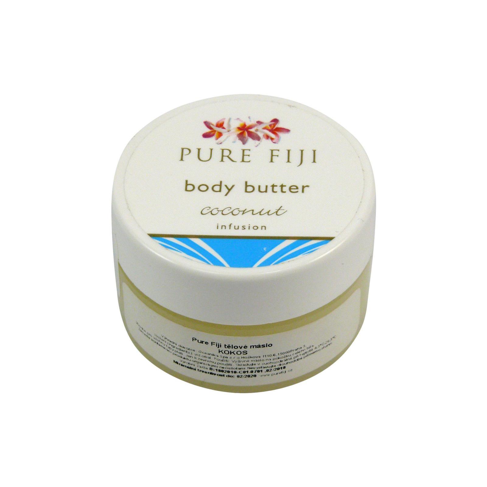 Pure Fiji Tělové máslo, kokos 15 ml