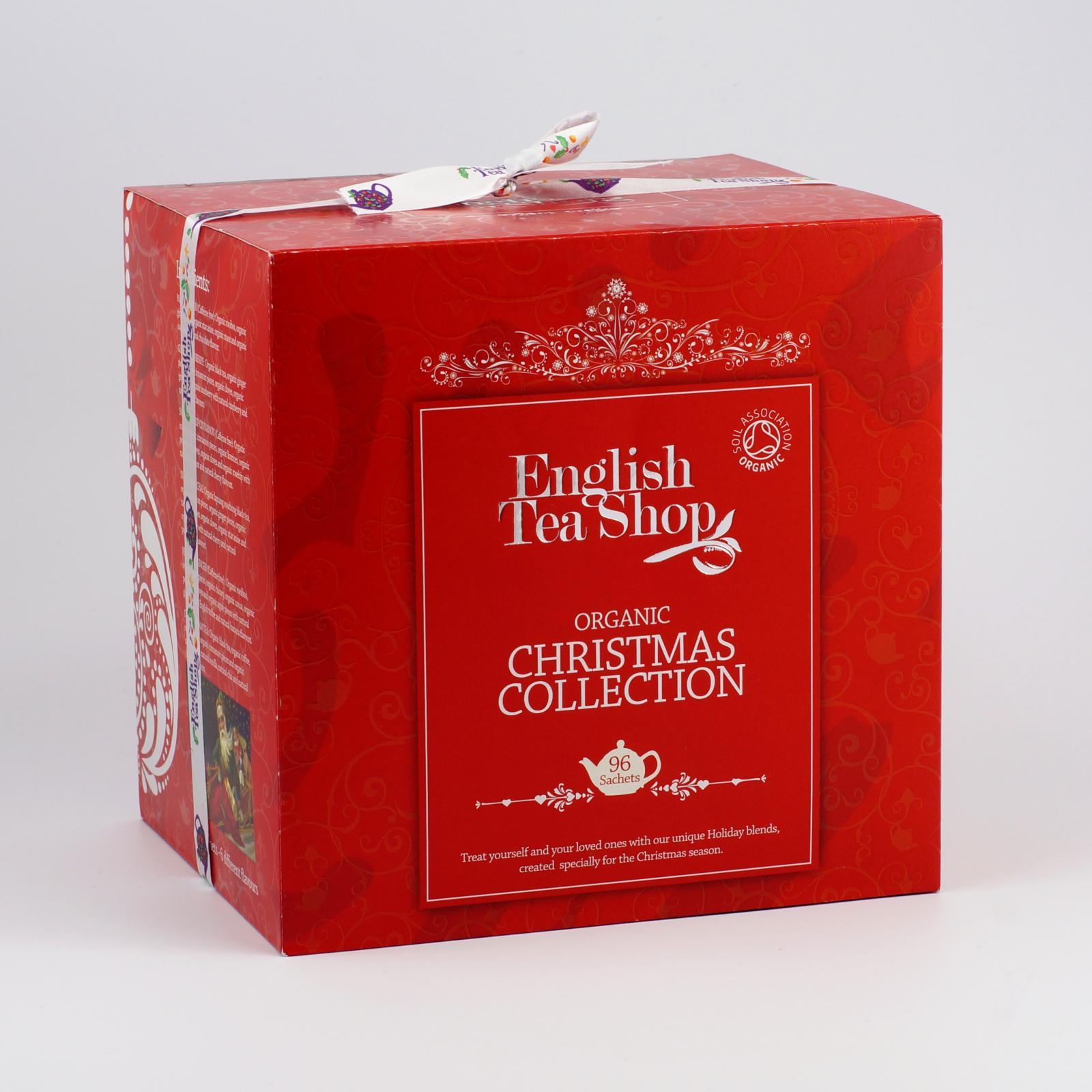 English Tea Shop Vánoční kostka červená 96 ks, 144 g