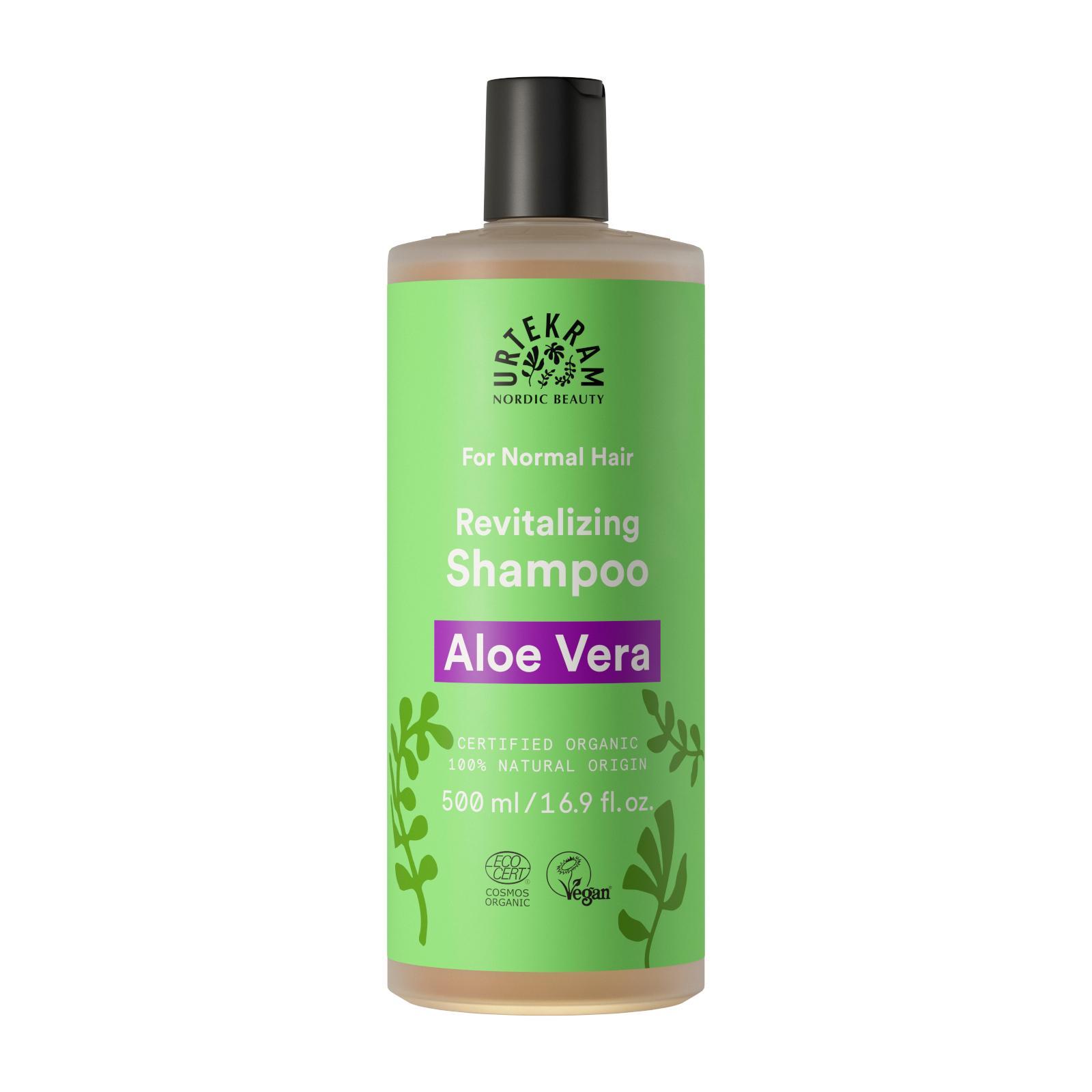 Urtekram Šampon s aloe vera na normální vlasy 500 ml