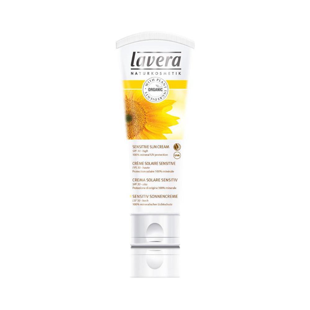 Lavera Krém opalovací sensitiv SPF 30, Sun Sensitive 75 ml