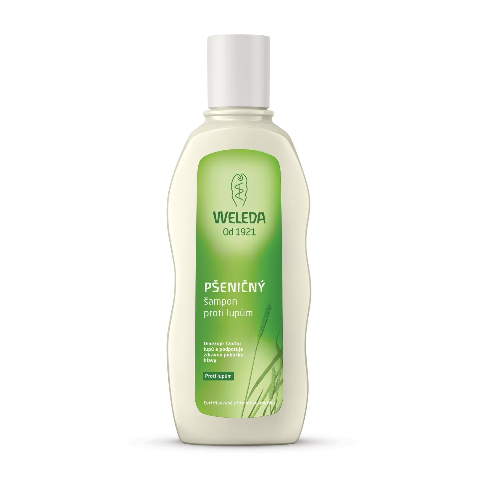 Weleda Pšeničný šampon proti lupům 190 ml