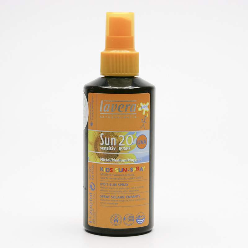 Lavera Výprodej Mléko opalovací dětské SPF 20 ve spreji, Sun Sensitive 200 ml