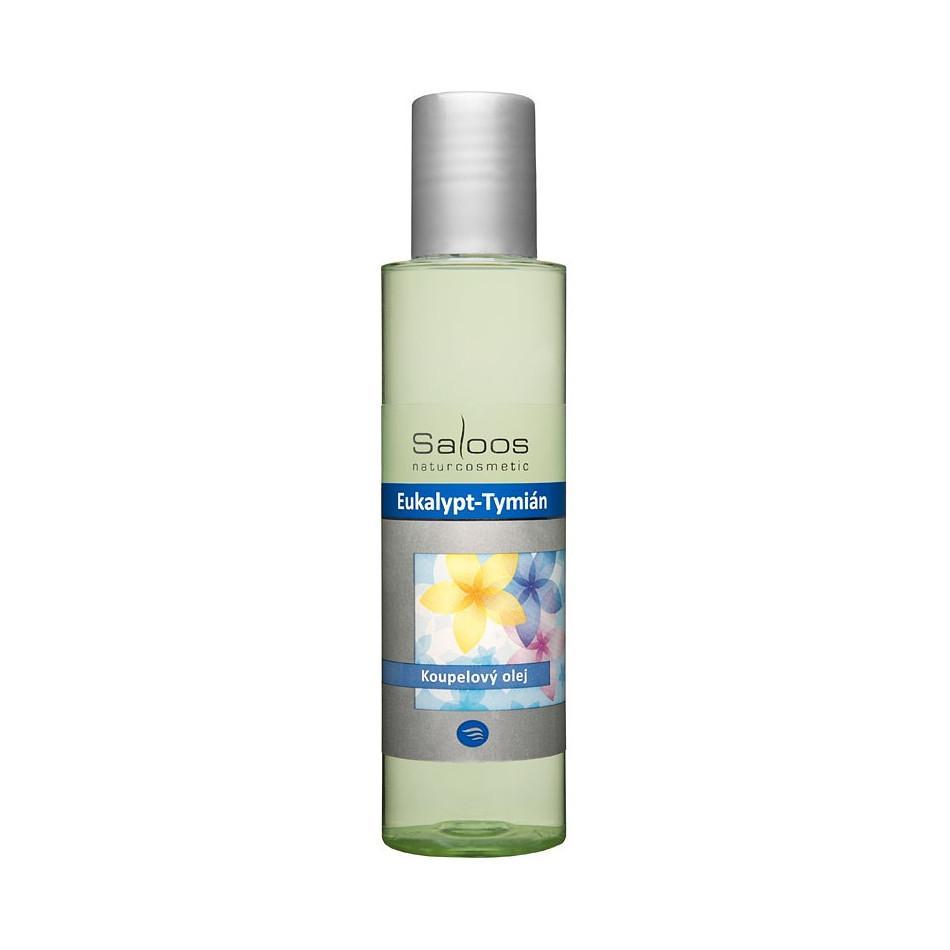 Saloos Koupelový olej eukalypt a tymián 125 ml