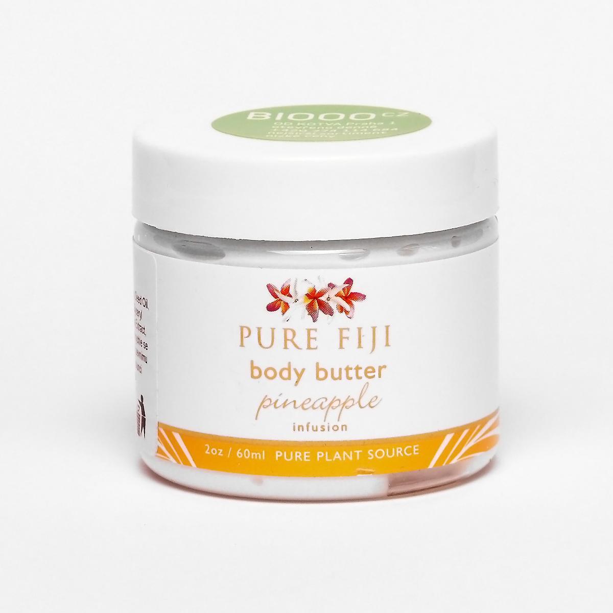 Pure Fiji Obličejové a tělové máslo, ananas 59 ml