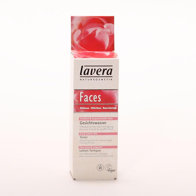 Lavera xxPleťový toner divoká růže, Faces 50 ml