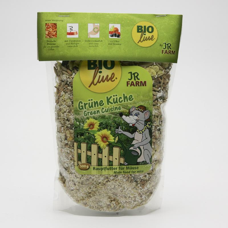 JR Farm Biokrmivo pro myši, Green Cuisine 500 g