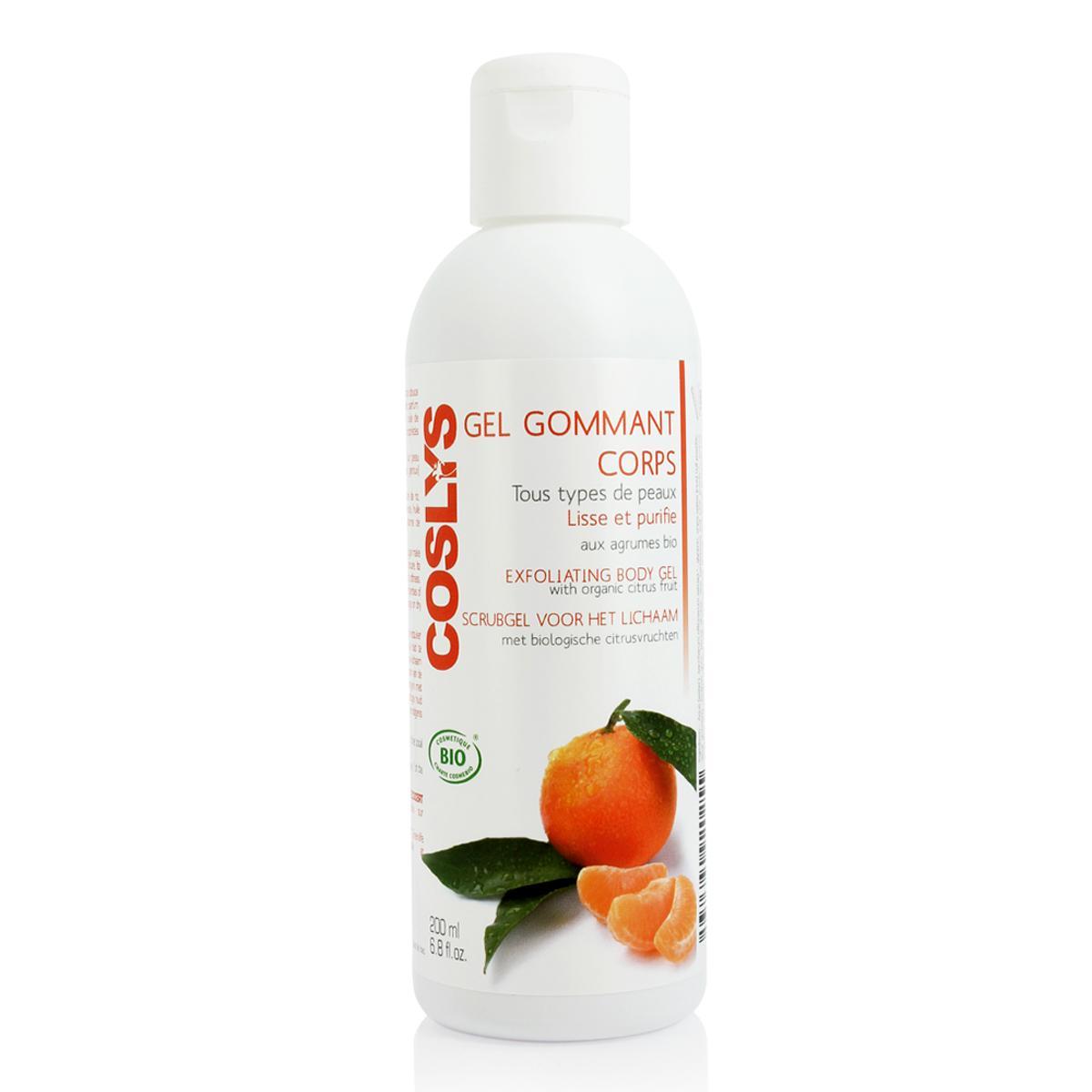 Coslys Exfoliační tělový gel citrusy 200 ml