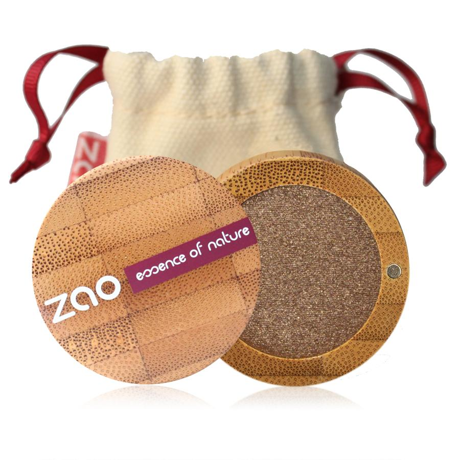 ZAO Třpytivé oční stíny 106 Bronze 3 g bambusový obal