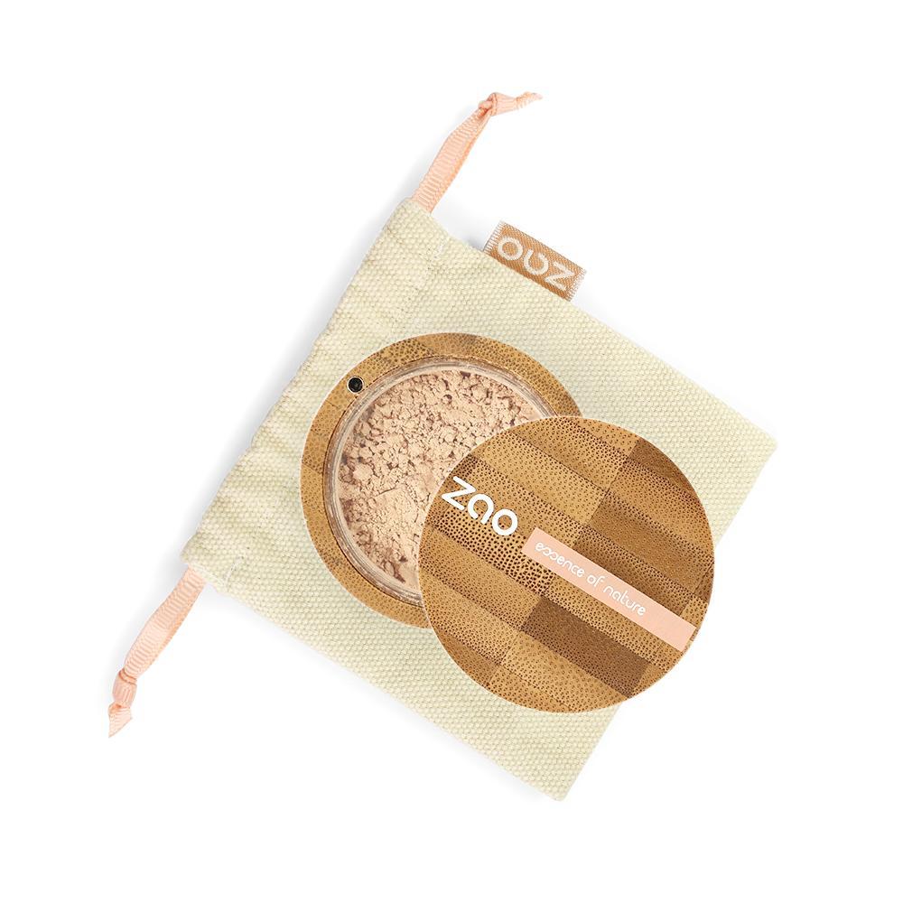 ZAO Hedvábný minerální make-up 507 Very Light Ochre 15 g bambusový obal