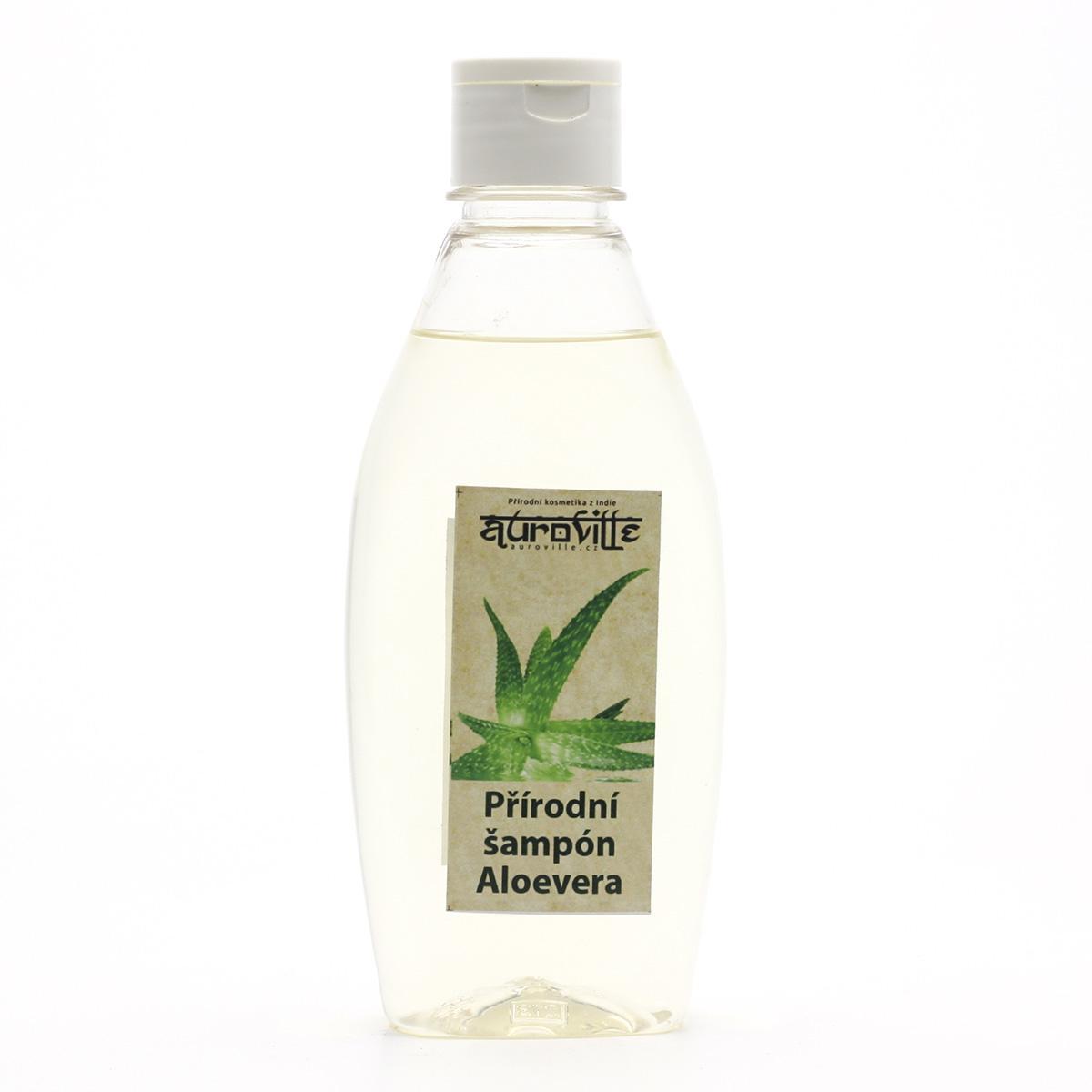 Auroville Vlasový šampon Aloe vera 200 ml