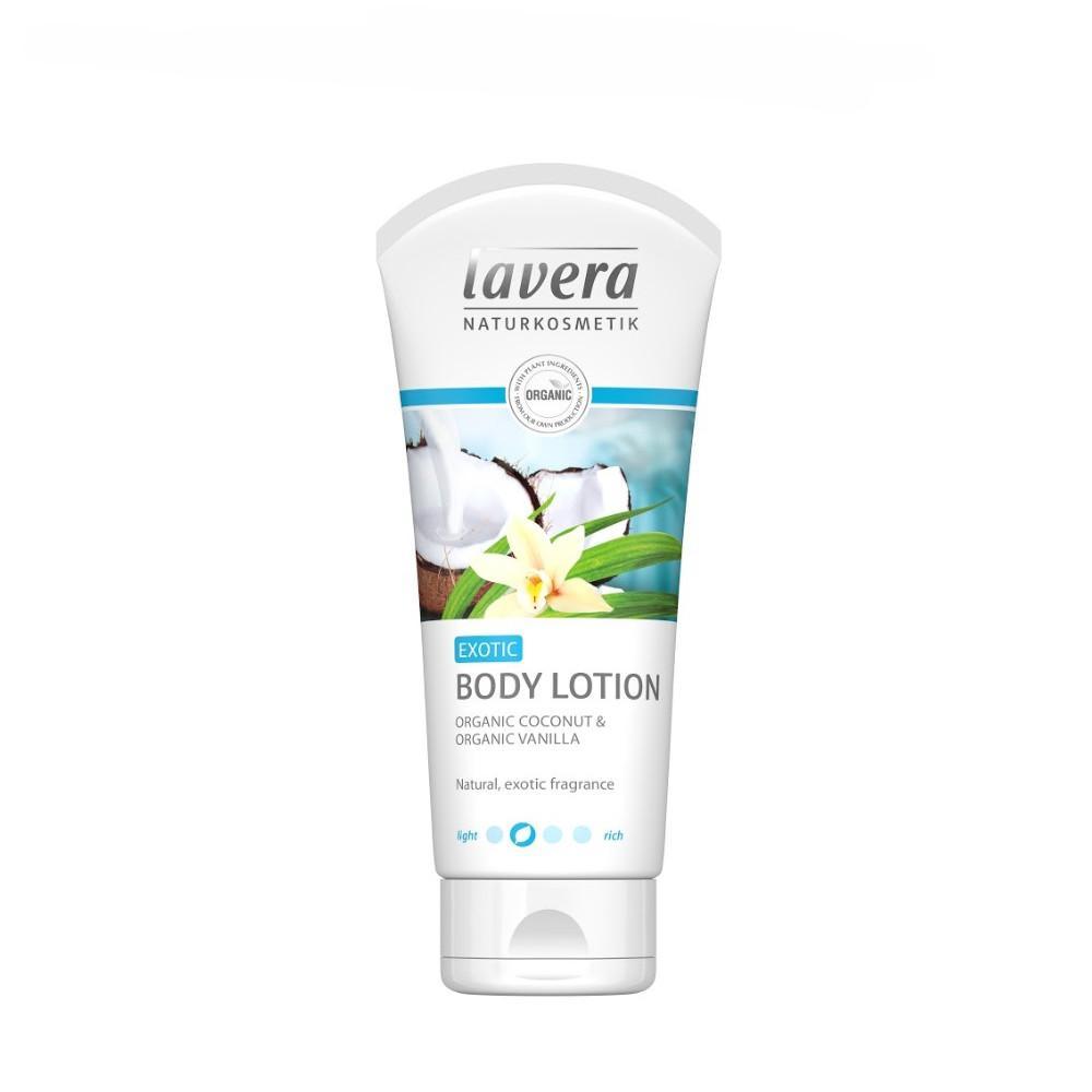 Lavera Tělové mléko vanilka a kokos, Body Spa 200 ml